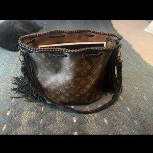 Revamped Louis Vuitton fringe bag